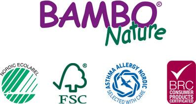 Loga Certifikátů a Bambo Nature
